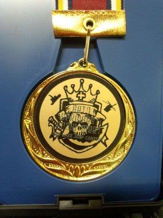 表彰メダル 金