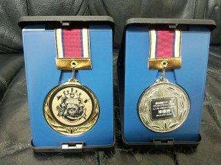 表彰メダル 銀銅